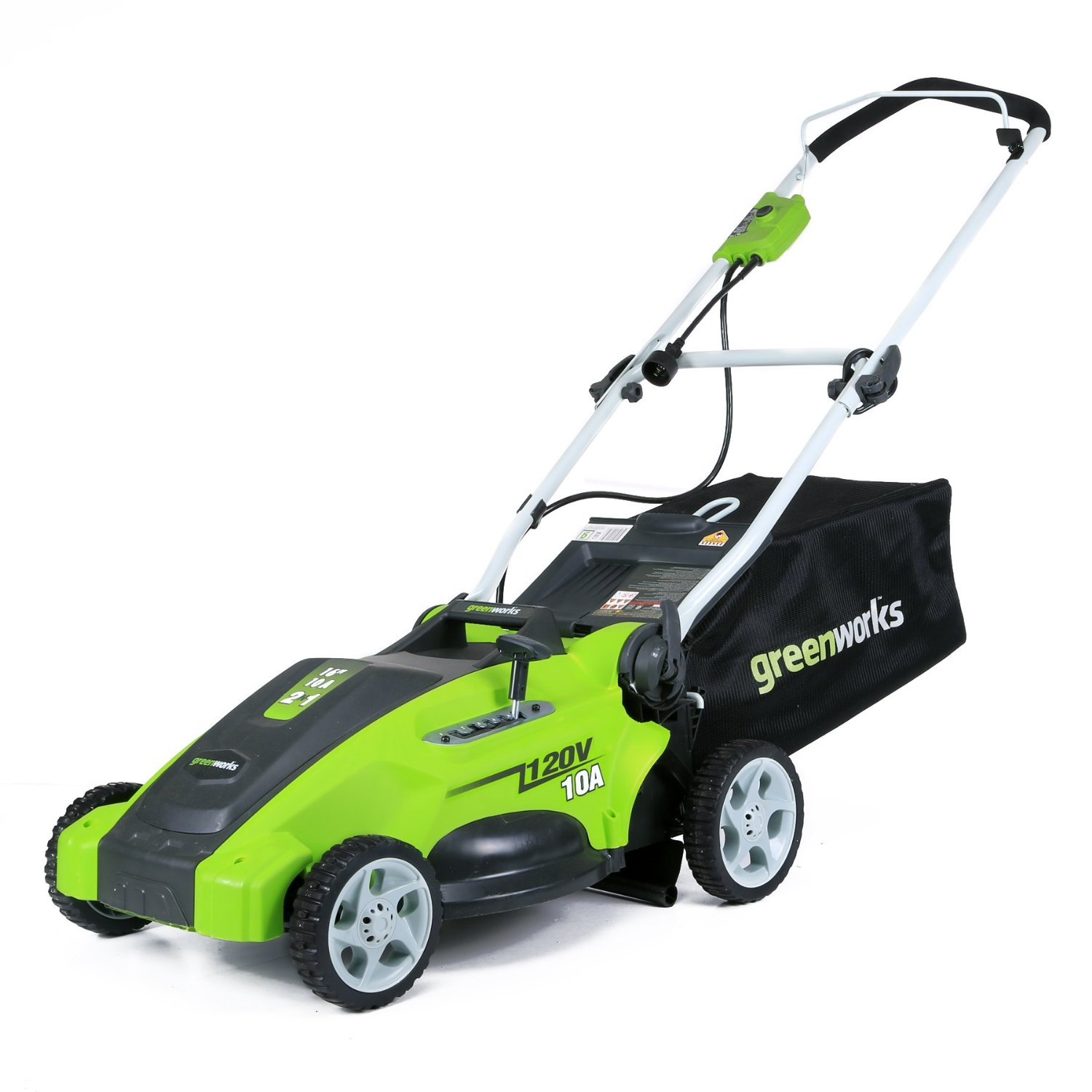 16-Inch Corded Lawn Mower