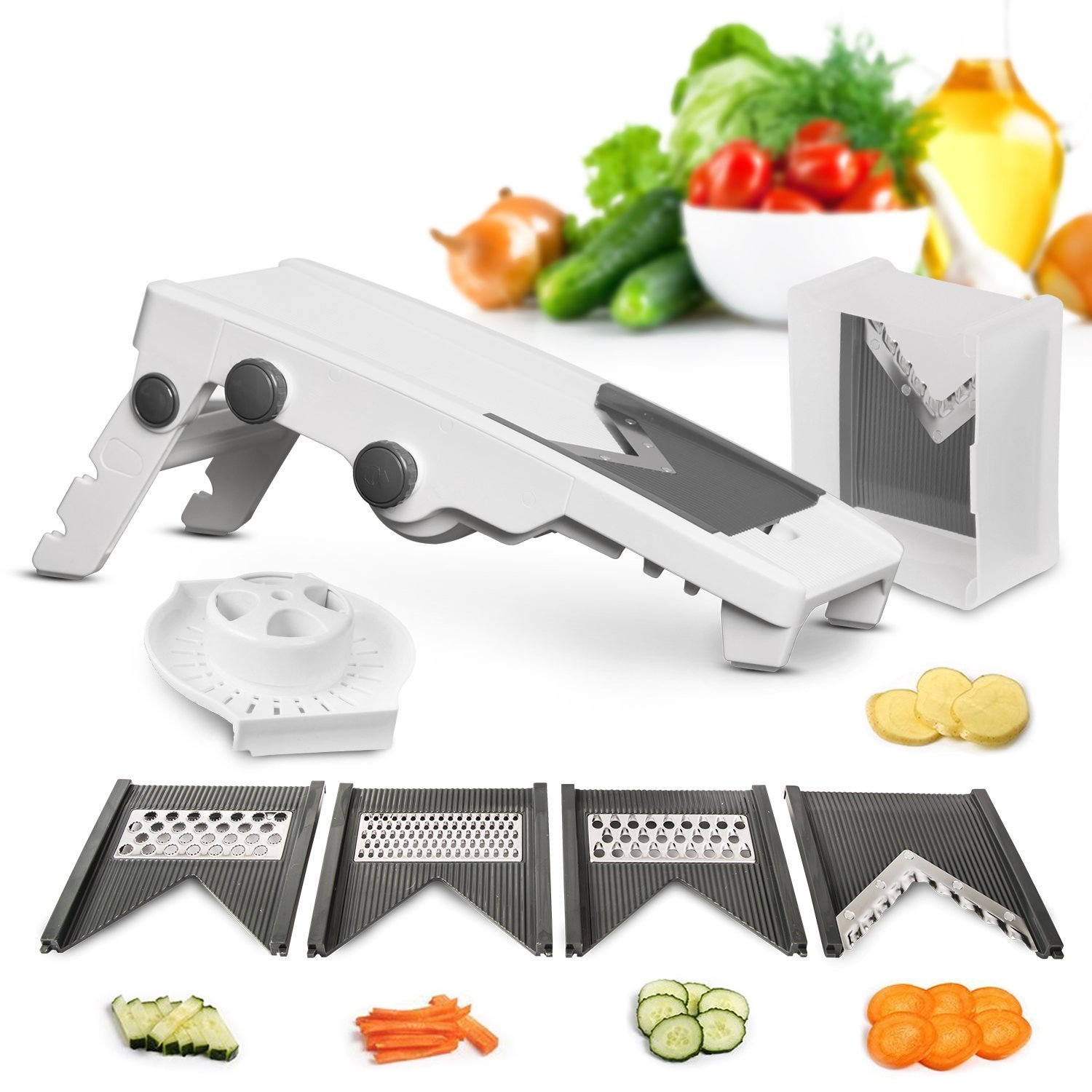 5 Blade Adjustable Mandolin Slicer
