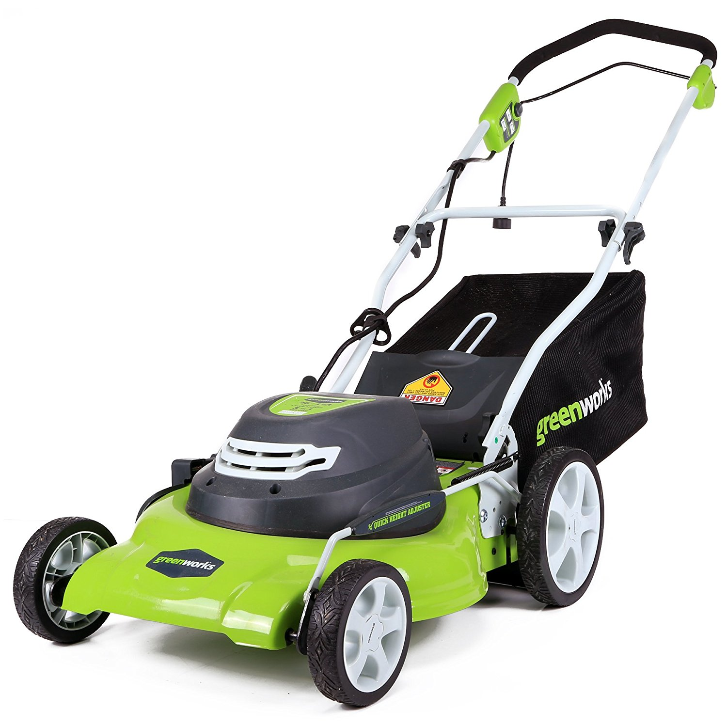 Amp Corded 20-Inch Lawn Mower