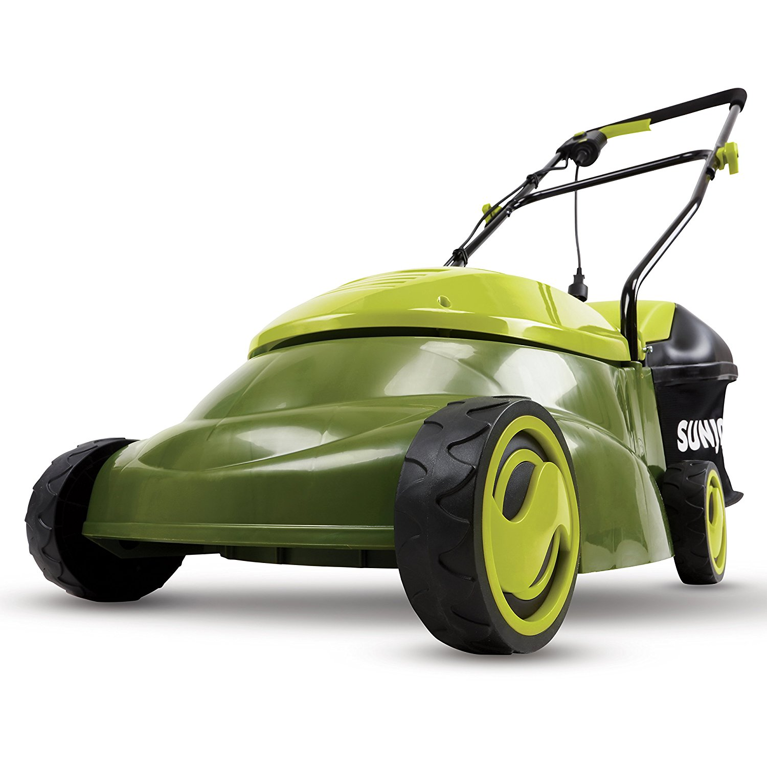 Amp Electric Lawn Mower With Grass Bag