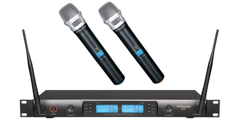 GTD-Audio-G-622H-200-Channel-UHF-Professional-Wireless-microphone-768x393