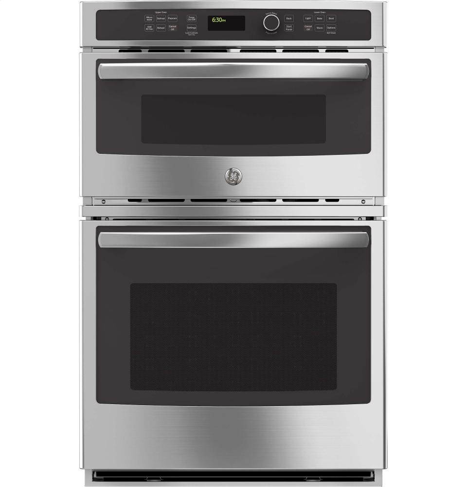 GE JK3800SHSS Stainless Steel Electric Combination Wall Oven