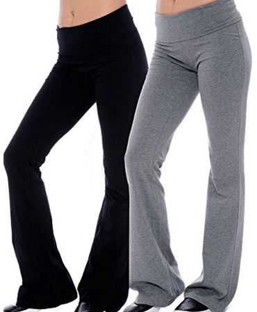 Cotton-blend-Yoga-Pants