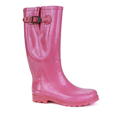 Twisted-Womens-DRIZZY-Tall-Cute-Rubber-Rain-Boots