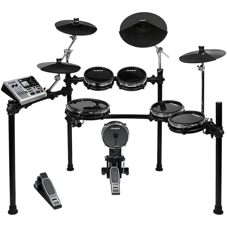Ten-Piece-Professional-Electronic-Drum-Set