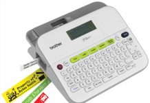Brother-PTD400AD-Label-Maker